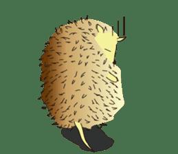 Hedgehog's Lovely LIFE sticker #1822299