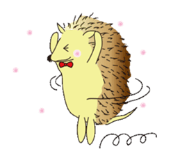 Hedgehog's Lovely LIFE sticker #1822300