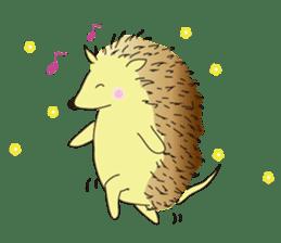 Hedgehog's Lovely LIFE sticker #1822301