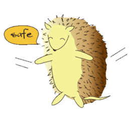 Hedgehog's Lovely LIFE sticker #1822302