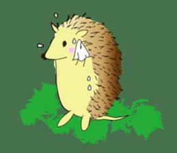 Hedgehog's Lovely LIFE sticker #1822305