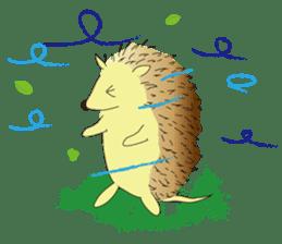 Hedgehog's Lovely LIFE sticker #1822306