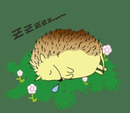 Hedgehog's Lovely LIFE sticker #1822308
