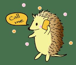 Hedgehog's Lovely LIFE sticker #1822309