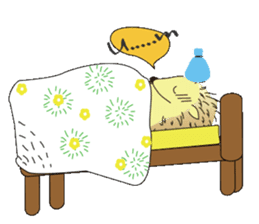 Hedgehog's Lovely LIFE sticker #1822310