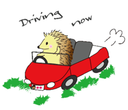 Hedgehog's Lovely LIFE sticker #1822311