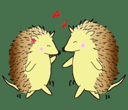 Hedgehog's Lovely LIFE sticker #1822314