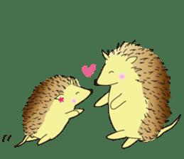 Hedgehog's Lovely LIFE sticker #1822315