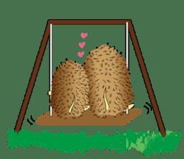 Hedgehog's Lovely LIFE sticker #1822317