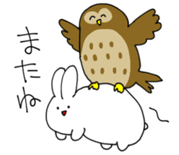 Mimi no nagai ikimono! sticker #1824087