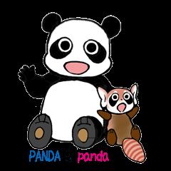 PANDA and panda