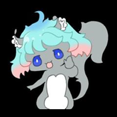 Sticker of Carl-chan