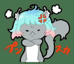 Sticker of Carl-chan sticker #1829216