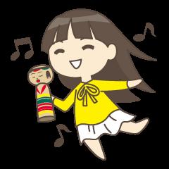 Koke_Sisters Sticker