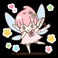 四季の妖精さんスタンプ