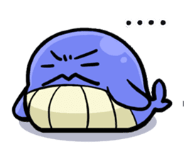 The OSSAN Whale sticker #1831523