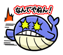 The OSSAN Whale sticker #1831529