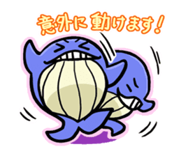 The OSSAN Whale sticker #1831532