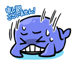 The OSSAN Whale sticker #1831537