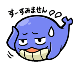 The OSSAN Whale sticker #1831545