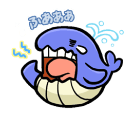 The OSSAN Whale sticker #1831546