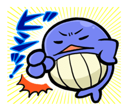 The OSSAN Whale sticker #1831548