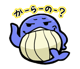 The OSSAN Whale sticker #1831552