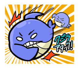 The OSSAN Whale sticker #1831556