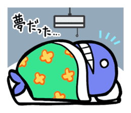 The OSSAN Whale sticker #1831559