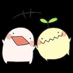 Mu-tyan and Q-tyan