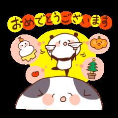 Japanese style greetings!!
