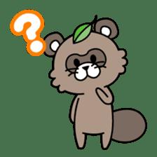 Fox & Raccoon dog! sticker #1847223