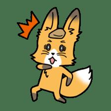 Fox & Raccoon dog! sticker #1847224
