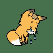 Fox & Raccoon dog! sticker #1847226