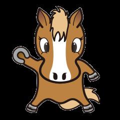 Markun Sticker - the horse charactor