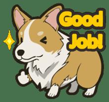 Hi!Corgi sticker #1849944