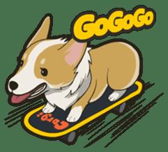 Hi!Corgi sticker #1849952