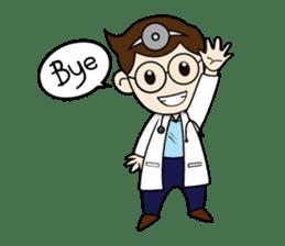 Little Doctor sticker #1850262