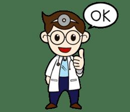 Little Doctor sticker #1850272