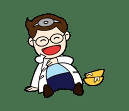 Little Doctor sticker #1850287