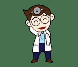 Little Doctor sticker #1850289