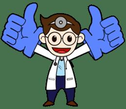 Little Doctor sticker #1850296