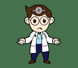 Little Doctor sticker #1850297