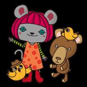 สติ๊กเกอร์ไลน์ onWon illustration characters