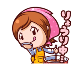 Cooking Mama Family Stickers (Japanese) sticker #1853065