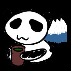Shizuoka Panda Sticker