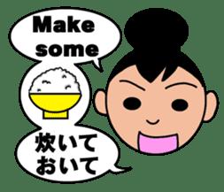 Bilingual sticker for families. sticker #1857701
