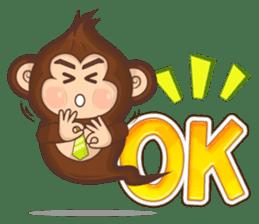 Pandey&Monka (Ghost Panda&Ghost Monkey) sticker #1858784
