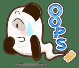 Pandey&Monka (Ghost Panda&Ghost Monkey) sticker #1858787