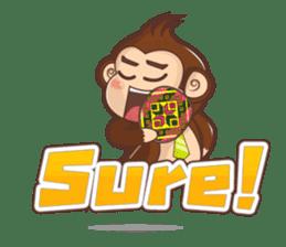 Pandey&Monka (Ghost Panda&Ghost Monkey) sticker #1858790